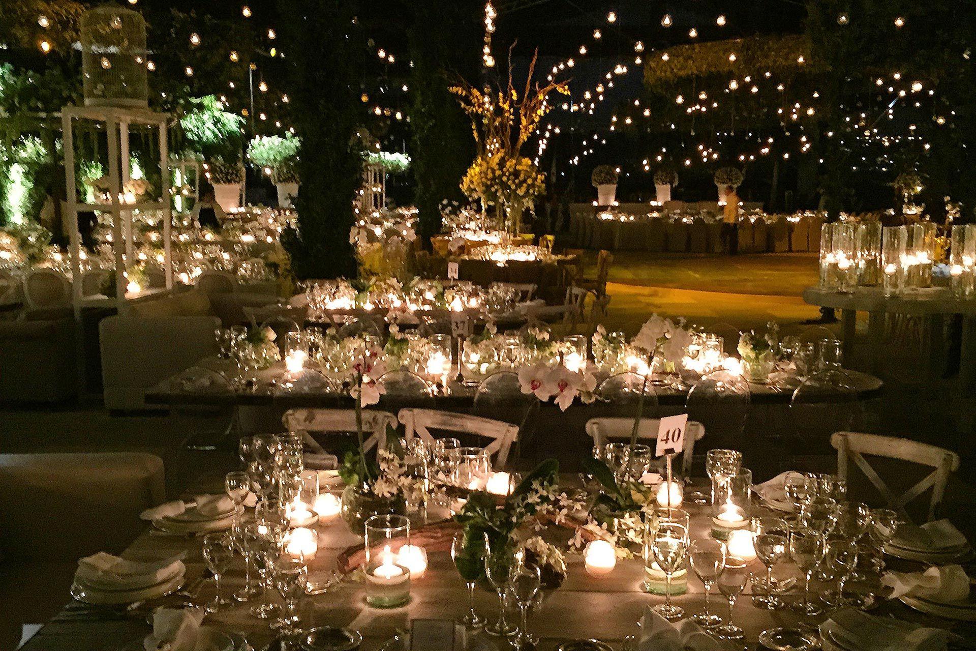 Peter de anda wedding planner bodorrio pinterest for Decoracion fiesta jardin noche
