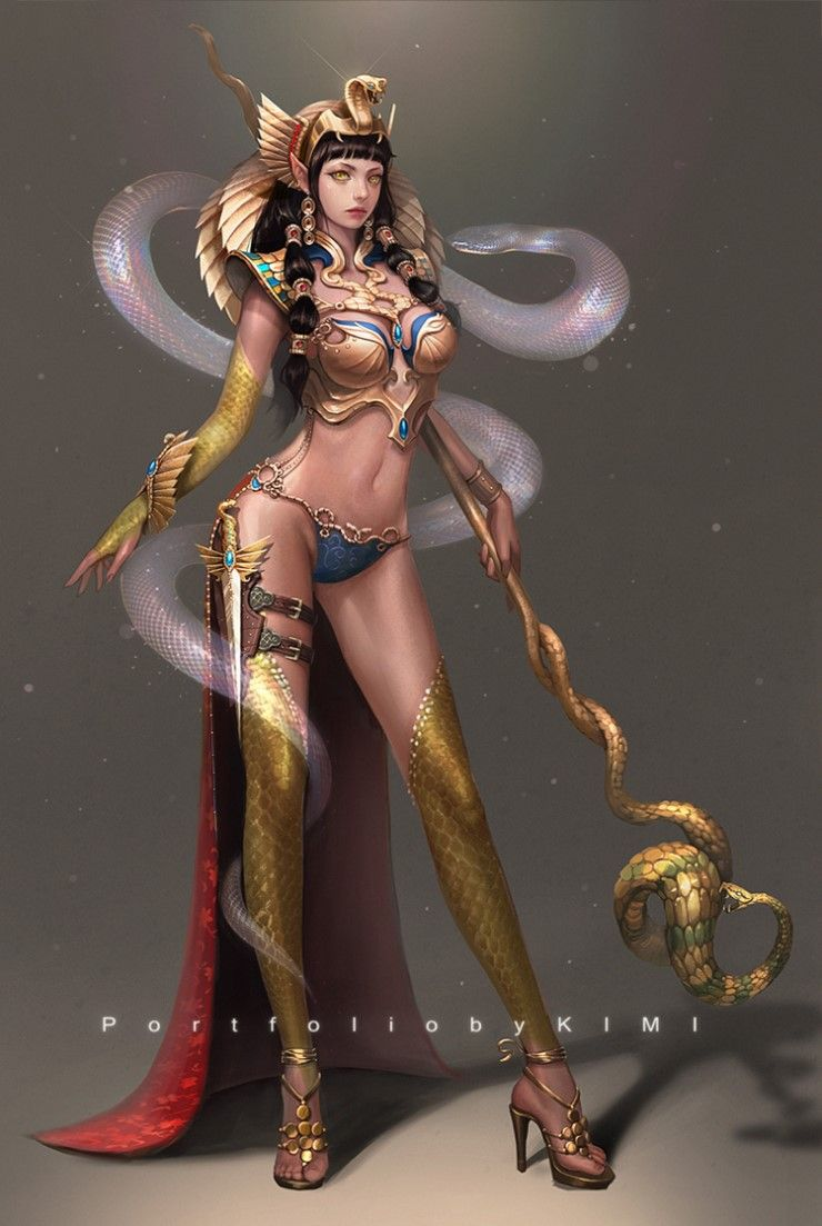 Difference Between Concept Art And Character Design : Egyptian fantasy art google search egypt pinterest