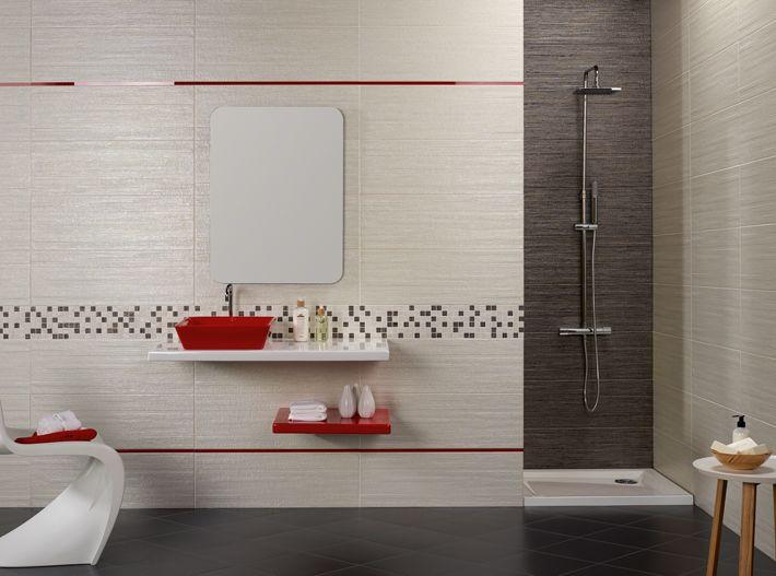 Avon blanco avon negro mosaico avon listelo nomad rojo - Mosaicos para banos ...