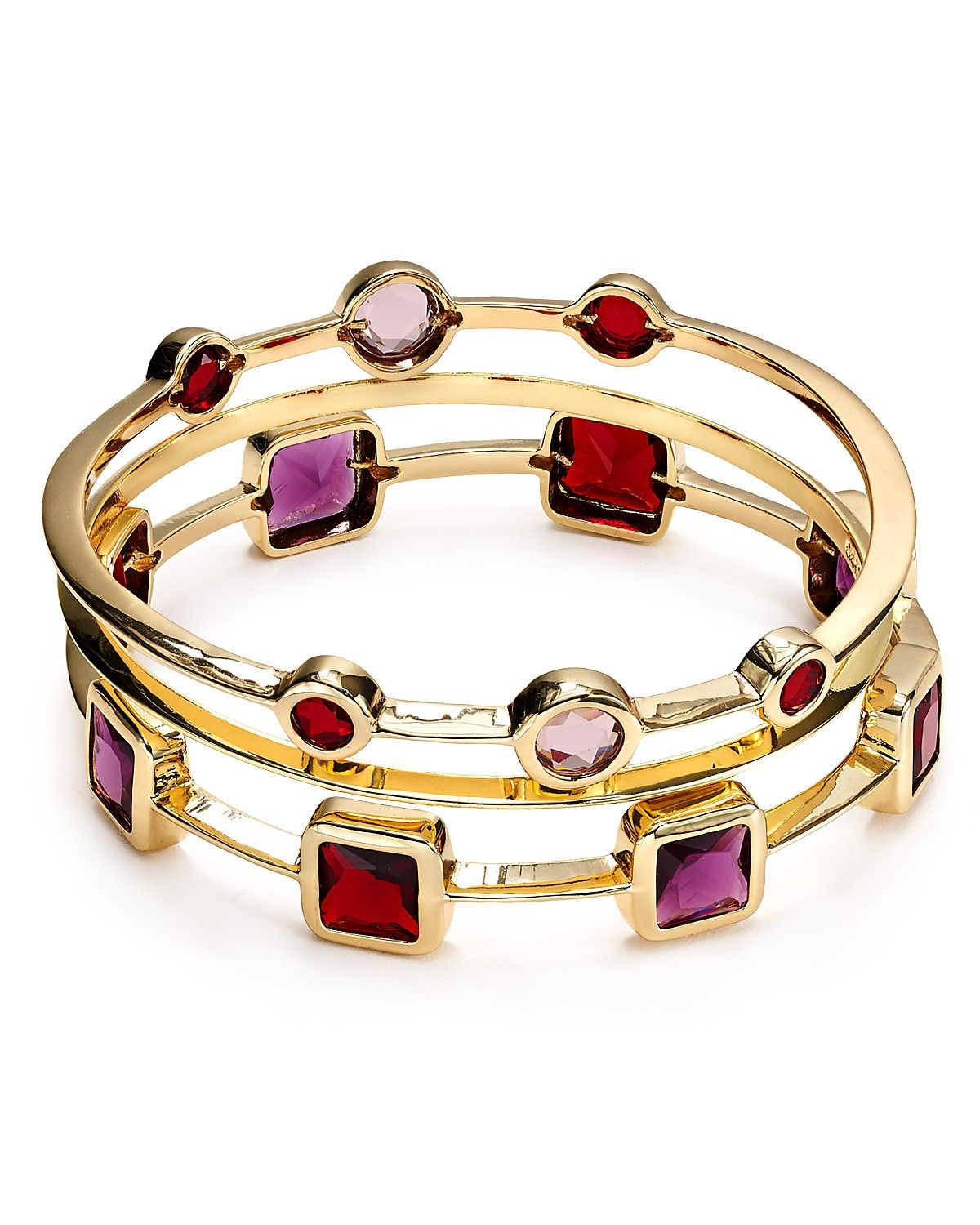 Carolee Berry Chic Bangles, Set Of Three | Bloomingdale's