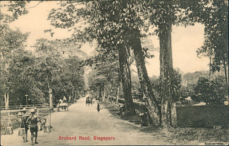 Orchard Road 1900 Photo Collection Of Singapore Philatelic Museum World Heritage Sites Singapore National Monuments