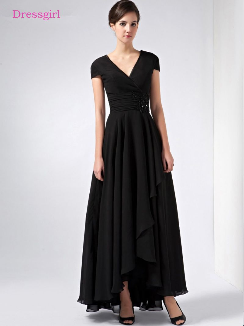 Black dress for wedding party  Cheap Mother of the Bride Dresses Buy Directly from China Suppliers