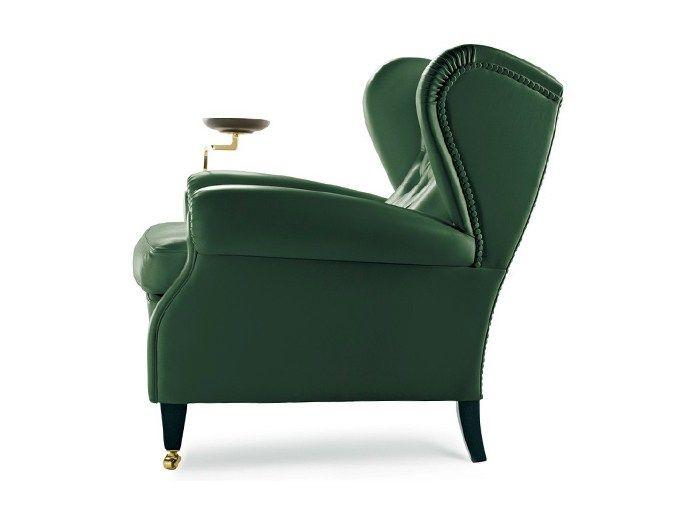 Bergere Pelle Frau® armchair 1919 - Poltrona Frau