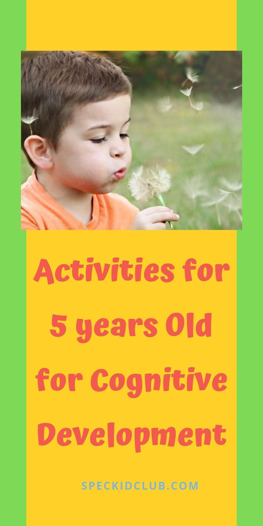 5 stimulating activities for 5 years old activities for