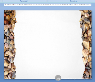 Creating a Custom Blogger Background using PowerPoint - Cornerstone Confessions