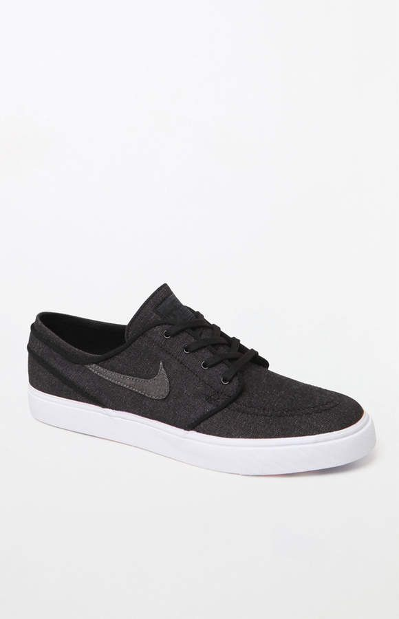 5b25bb857cfc adidas Nike Sb Zoom Stefan Janoski Canvas Deconstructed Dark Gray Shoes