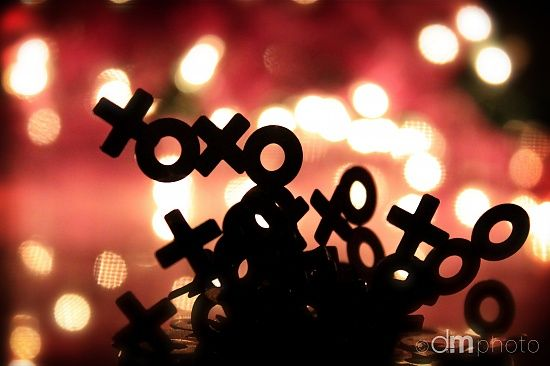 """More Than X's and O's""  © dm photo  Day 3 / 365 Project"