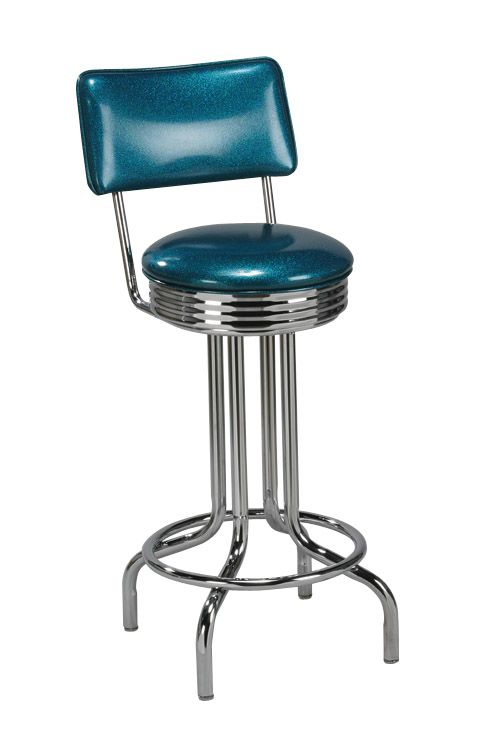 Phenomenal Swivel Chrome Ring Swivel Retro Bar Stool In 2019 Retro Onthecornerstone Fun Painted Chair Ideas Images Onthecornerstoneorg