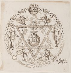 Alchemical and Rosicrucian compendium, ca. 1760 | BILDGEIST