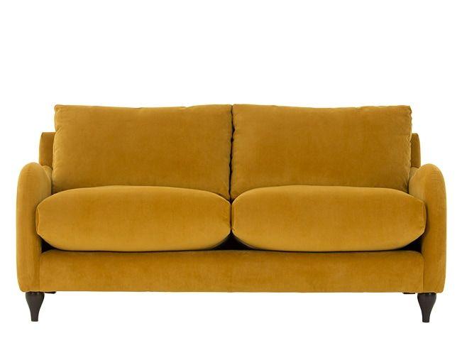 Made Plush Turmeric Sofa Family Room Open Concept In 2019