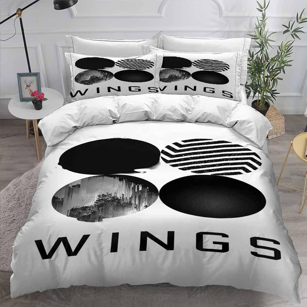 3d bts bedding set (10 varian) in 2020 Bedding set, Bed