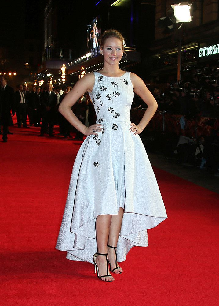 Jennifer Lawrence on Christian Dior - London Mockingjay Premiere