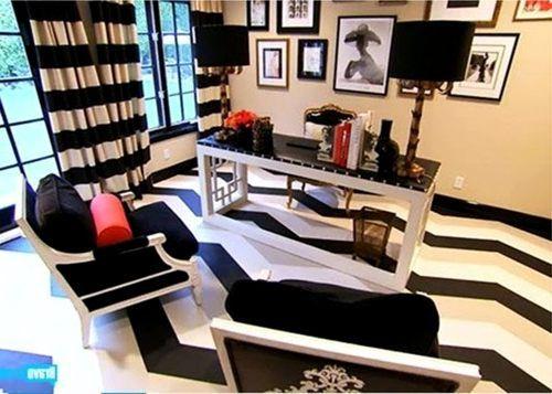 Black White Stripe Drapes | Black And White Horizontal Striped Curtains |  Horizontal Striped .