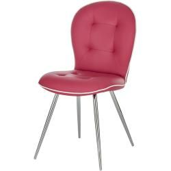 Photo of uno Stuhl Isett ¦ rosa/pink ¦ Maße (cm): B: 49,5 H: 89 T: 62 Uno