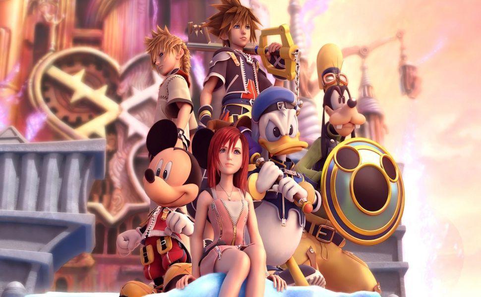 Kingdom Hearts 1080p Hd Wallpaper Personagens Disney Coracao Do Reino Referencia De Arte
