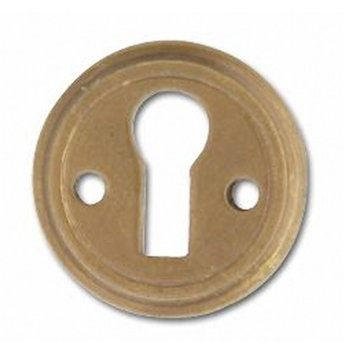 STAMPED BRASS KEY HOLE COVER  B0263