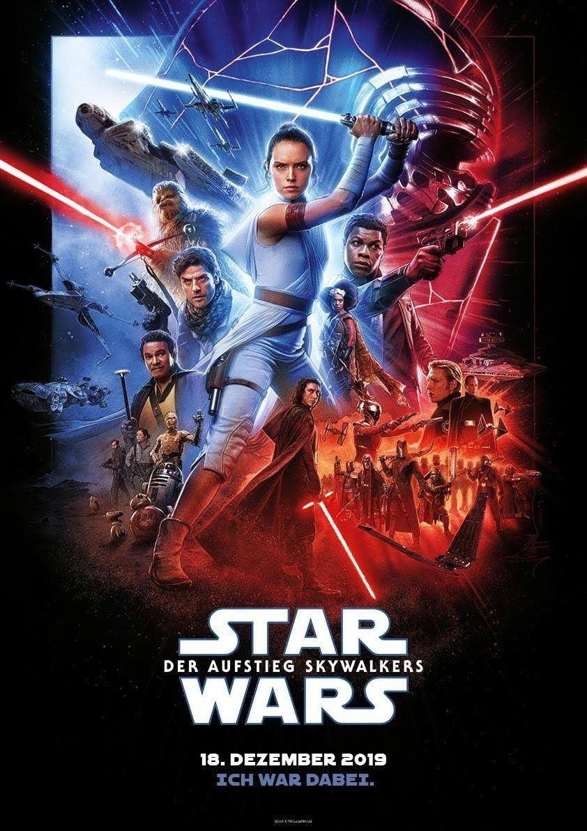 ZA547 Star Wars Movie The Rise of Skywalker 2019 Dec Ray 32x48 27x40 Poster