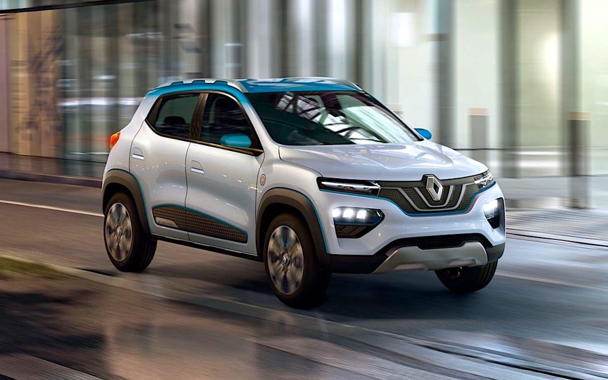 Renault K Ze El Kwid 100 Electrico Debuta En Paris Motores