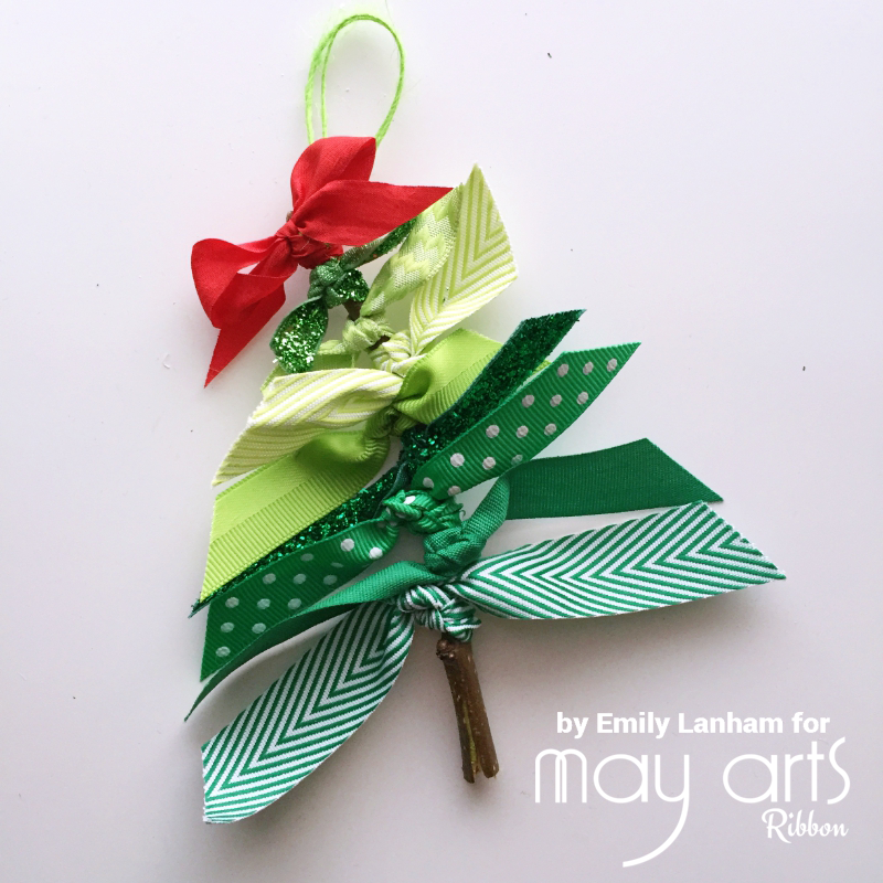 Christmas Craft Ideas For Young Children Part - 42: Create Serendipity: May Arts Kids Craft Holiday Blog Hop Small Branch, Small  Ribbon Scraps