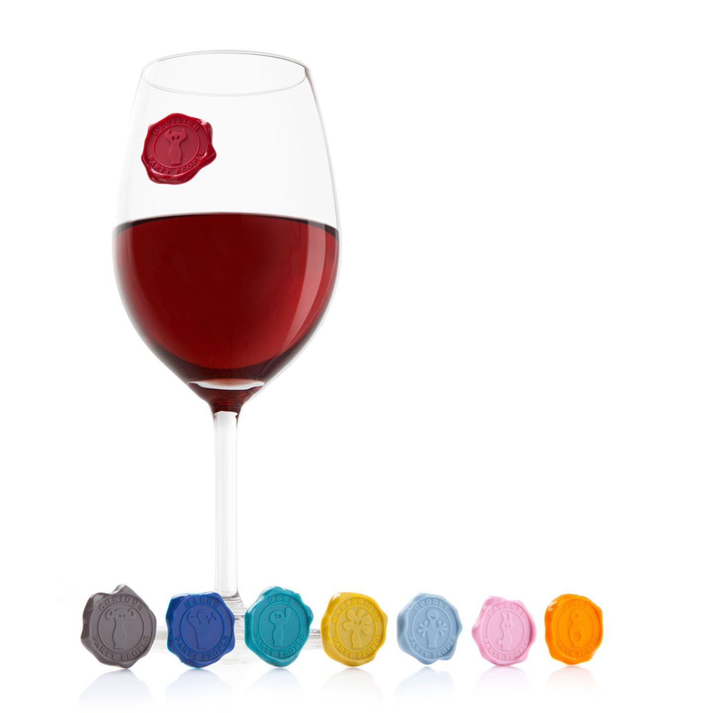 Colorful Suction Cup Glass Markers Wine Glass Markers Glass Marker Wine Markers