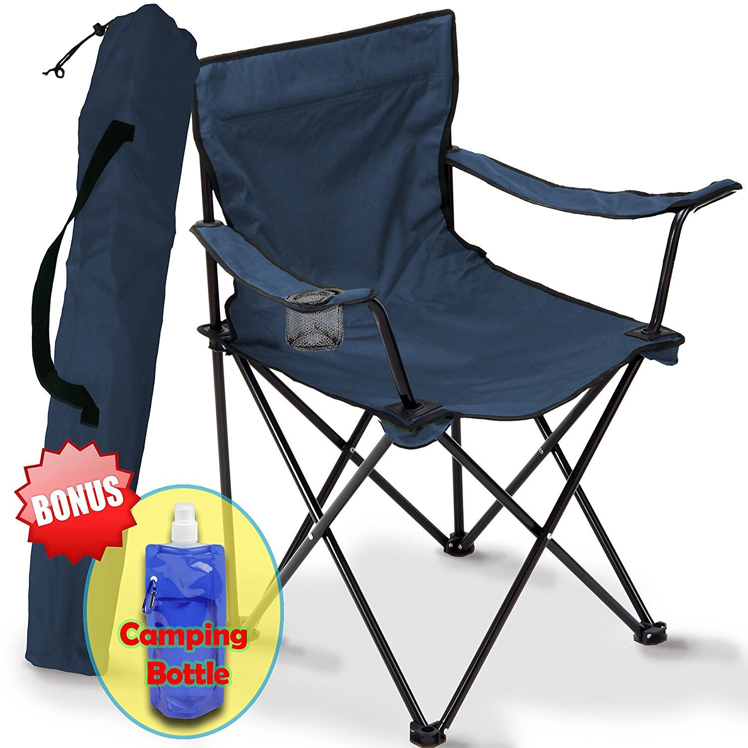 Camping Chair Folding, Portable Carry Bag for Storage and