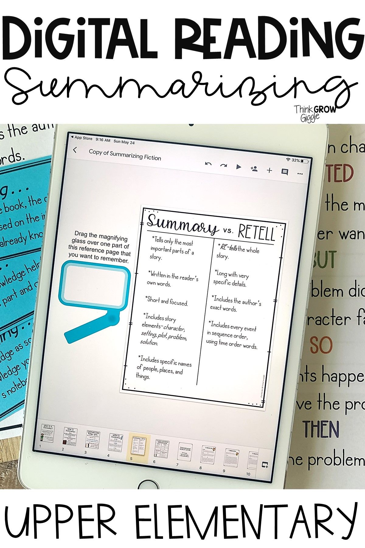 Writing Summaries Anchor Charts Activities And Writing