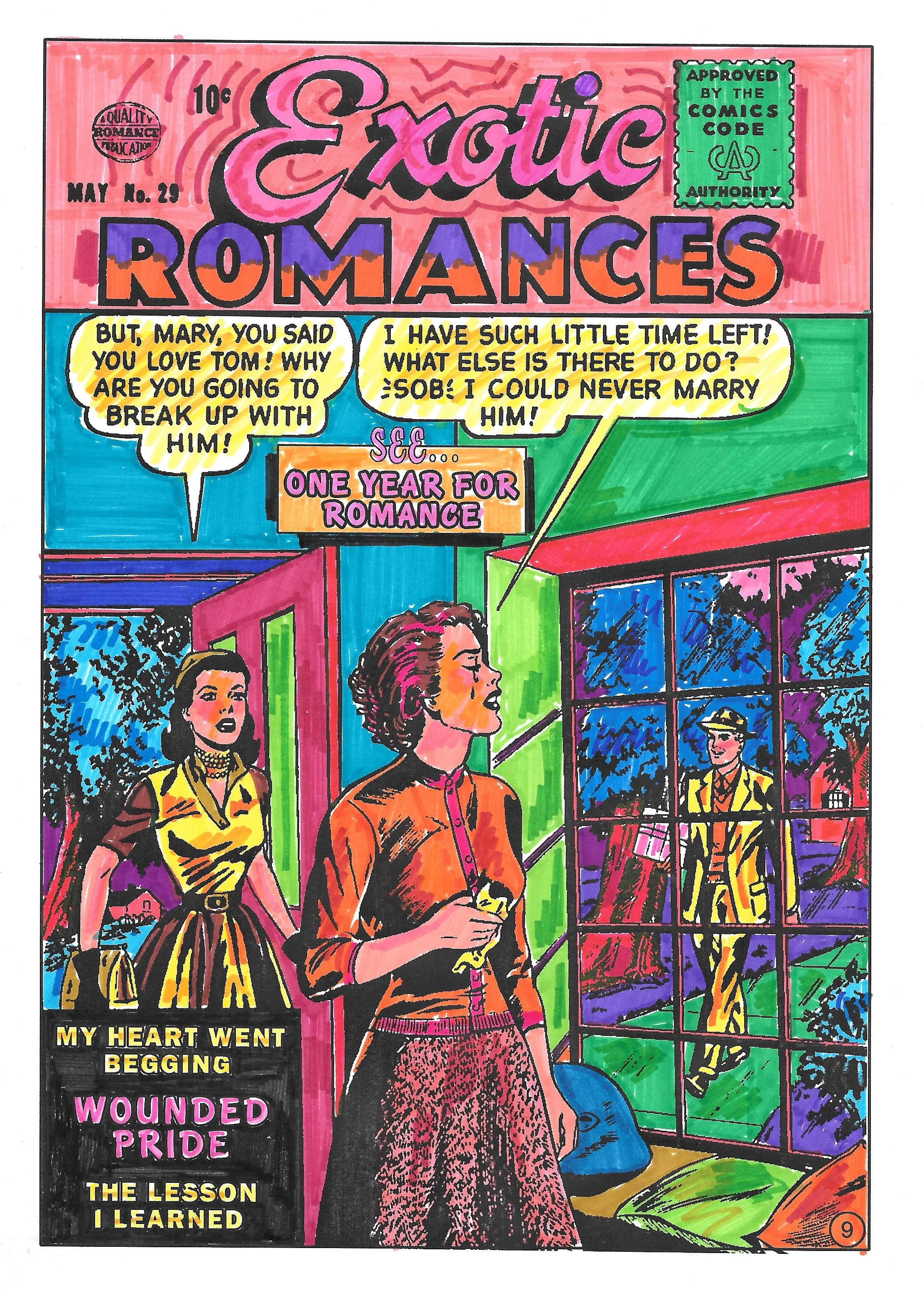 Why Color Mandalas When You Can Color Drama!™ Visit Romance Comic ...