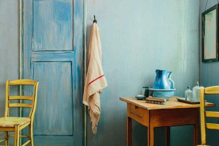 logeer via airbnb in de slaapkamer vincent gogh