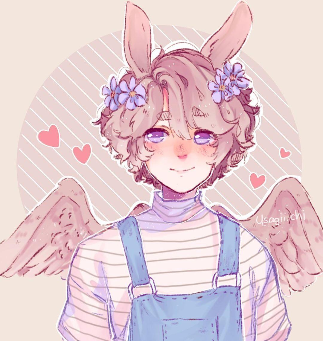 Bunny Boy Tag Anime Drawings Boy Cute Art Anime Art