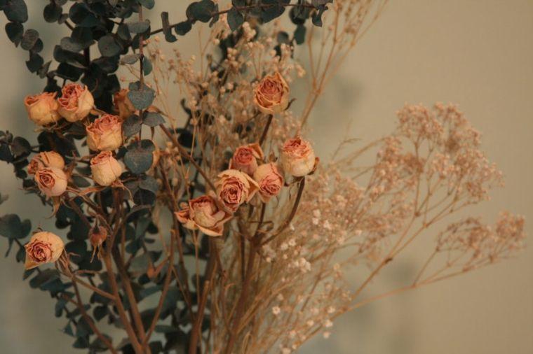 flores secas para decorar la casa Decoración Pinterest Flores - flores secas