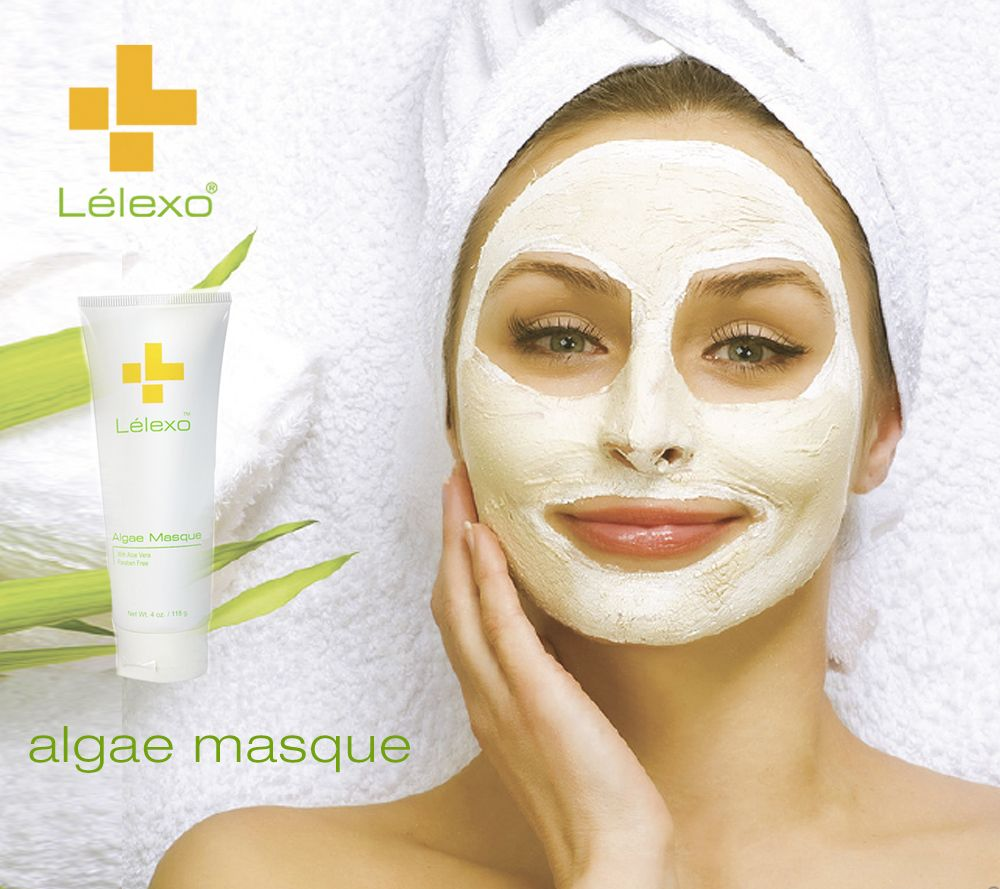 Formulated to target all skin types, this masque is designed to absorb excess oil, decongest pores, moisturize, and nourish dehydrated skin. The therapeutic use of Algae offers skin benefits, such as regulation of sebum production, antioxidant properties to further fight and prevent free radical damage and encourage vascular circulation. Enriched with aloe vera, kaolin, bentonite, camphor and allantoin, this combination helps in the production of collagen and elastin .