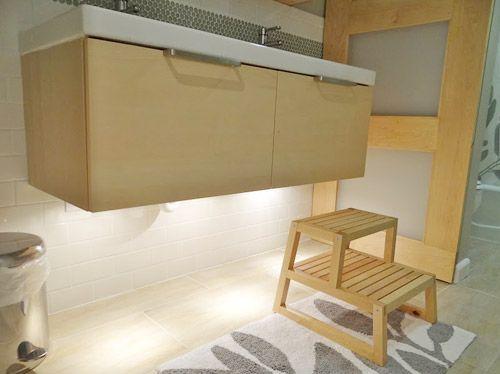 under vanity lighting. Floating Cabinets · Under Cabinet Lighting Vanity
