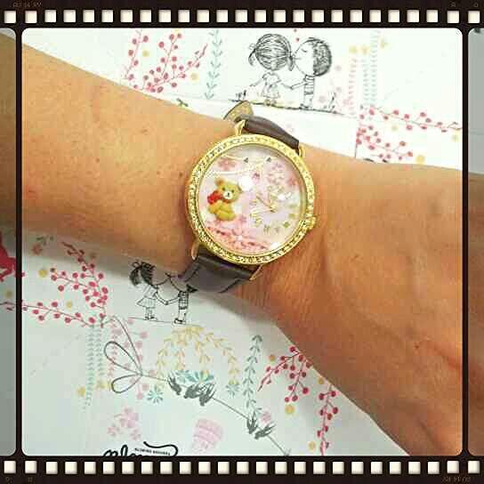 Novità Didofà!  Bellissimo orologio 3D orsetto www.gioielleriagozzoli.com