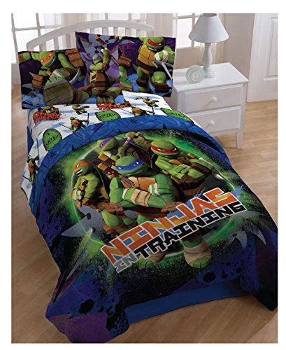Pin By Elizabeth On Cool Bedding Set Teenage Mutant Ninja Turtles Bedroom Ninja Turtle Bedroom Turtle Bedroom