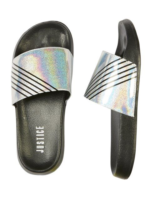aac1ae0fa4f Holographic Glitter Slides