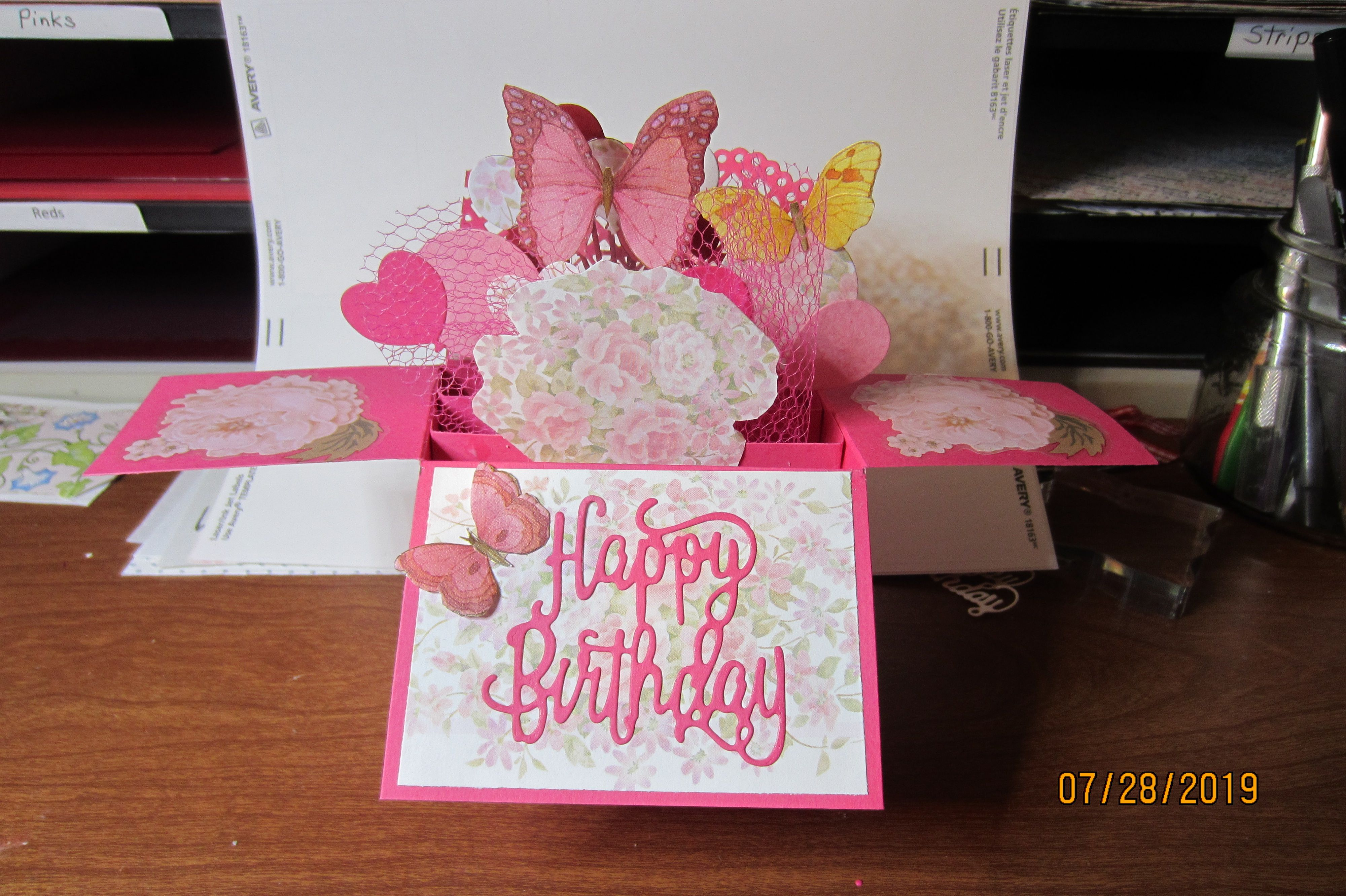 cardsjanet  boxed birthday cards card box birthday