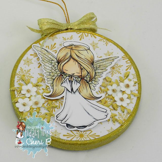 CheriB Designs: Angelic Wishes Ornament