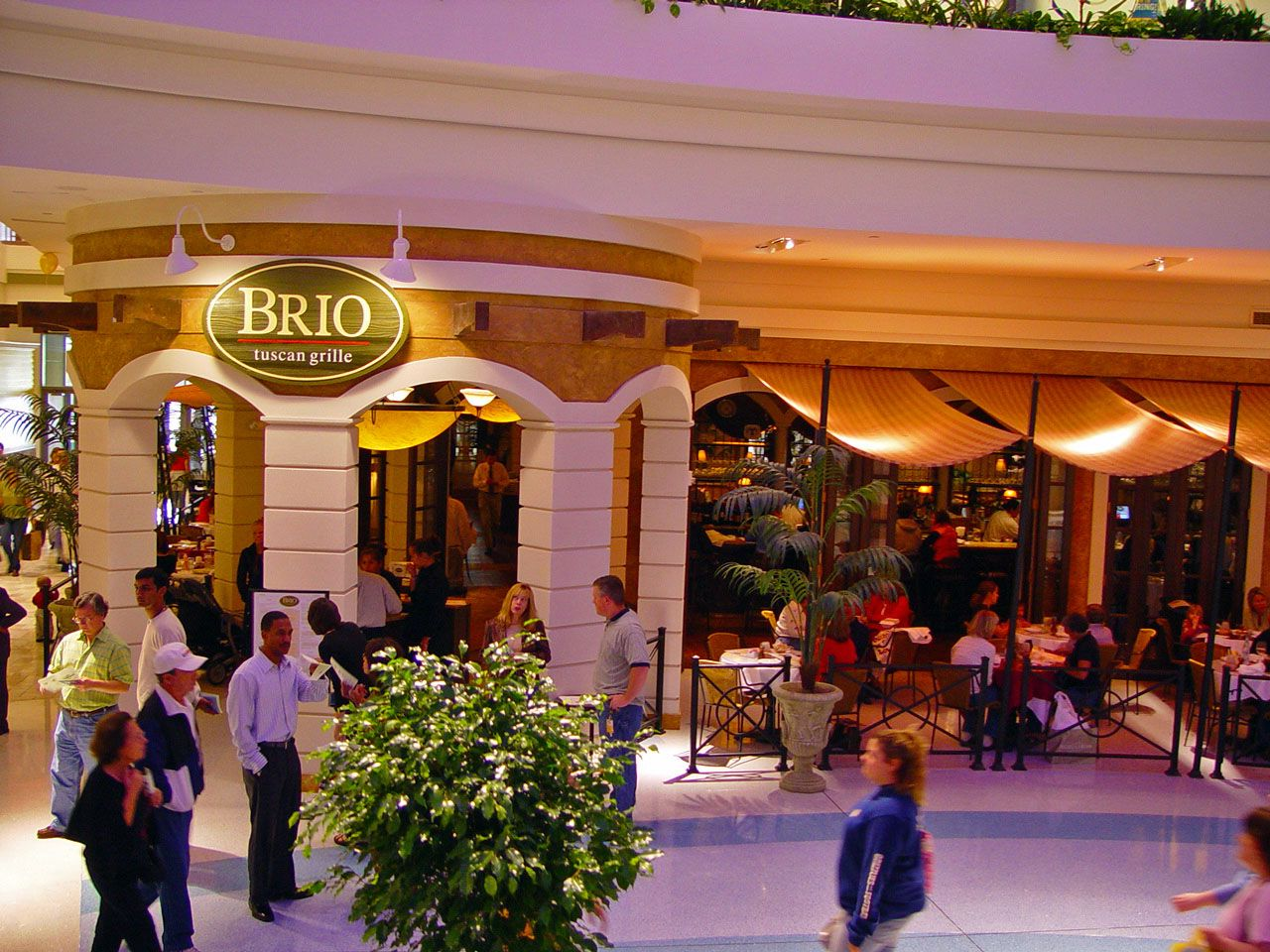 Welcome to Brio Tuscan Grille at Tysons Corner Mall! PHONE: 703-288 ...