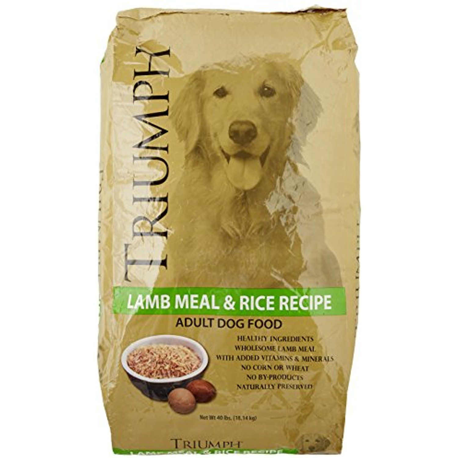 Triumph Lambmeal And Rice Dog Food 40 Lb You Can See This