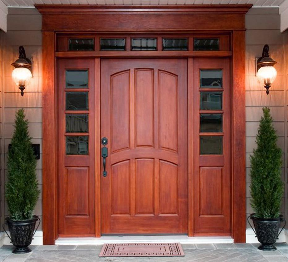 Front Doors front doors with sidelights pics : wood entry doors with sidelights | Kitchen , Andersen Fiberglass ...