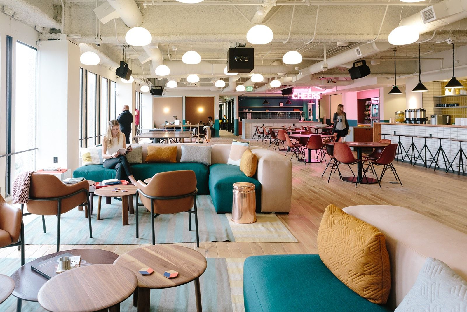 A Tour Of Wework Embarcadero Coworking Space Design Office Interior Design Cool Office Space