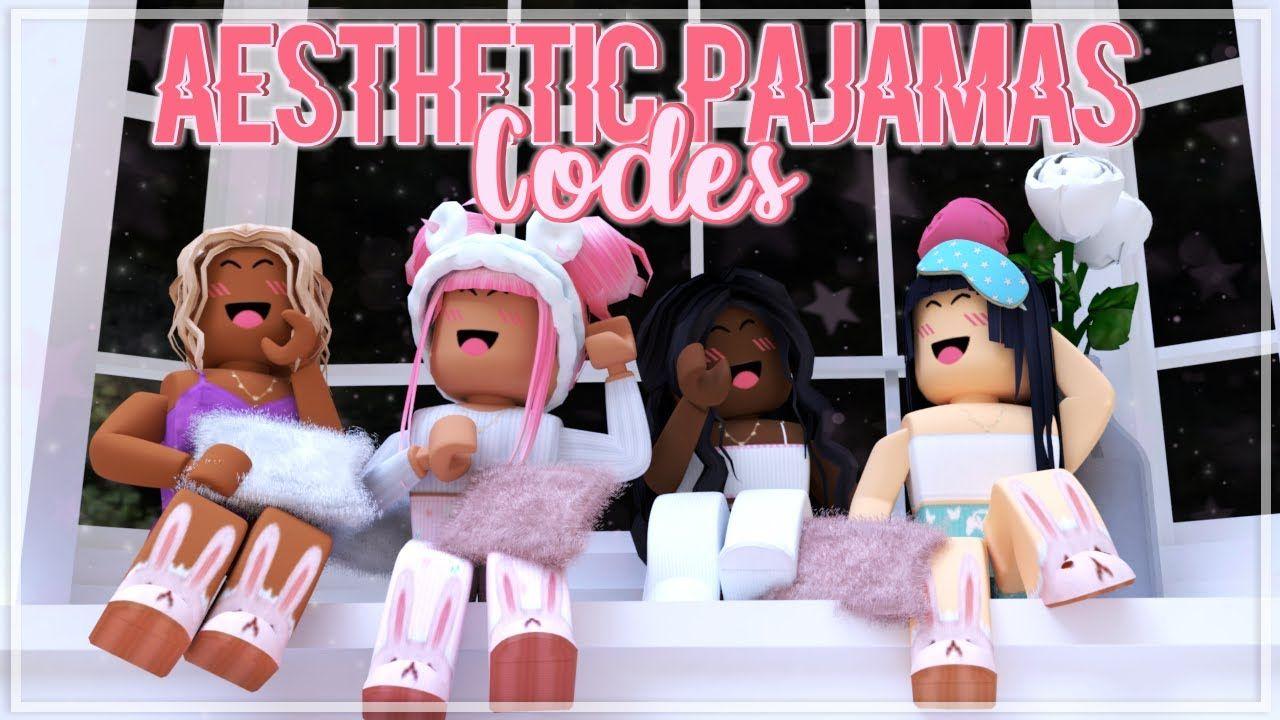 Aesthetic roblox pajamas codes links youtube roblox