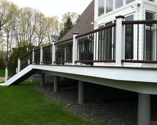 Image Result For Decks On White Houses Deck Colors Tan