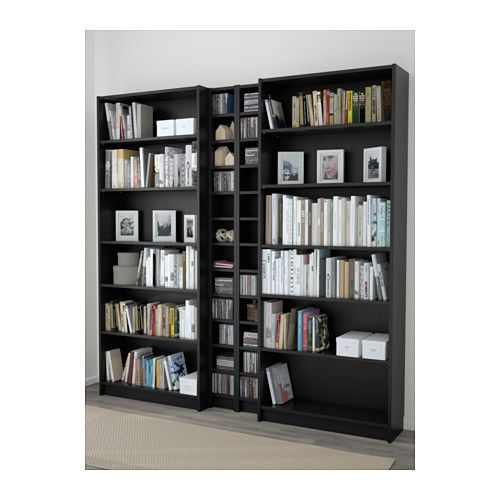 billy gnedby biblioth que brun noir int rieurs pinterest architecture int rieur et d co. Black Bedroom Furniture Sets. Home Design Ideas