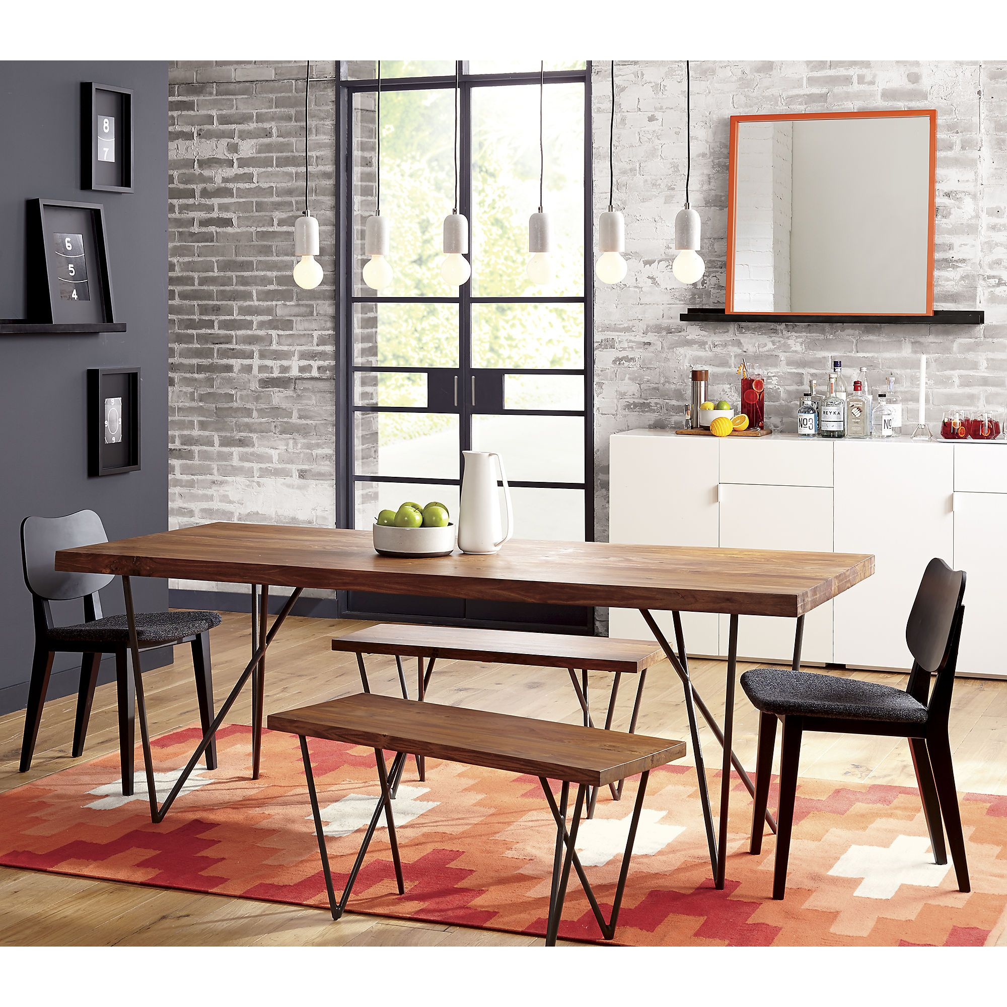 Dylan 36 X80 Dining Table Cb2 Modern Dining Table Dining