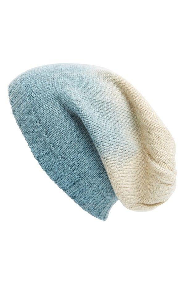 Leith Ombré Slouchy Knit Beanie e9c8377eb79