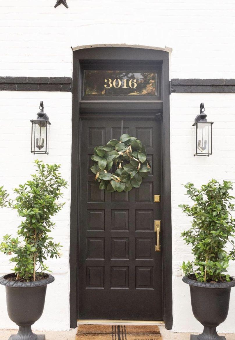 23 Stylish Scandinavian Door Design Ideas Looked Outside Di 2020