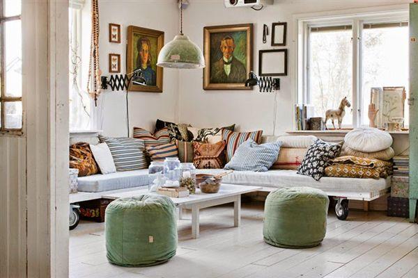 Vintage Scandinavian House Style By Johanna Flyckt Gashi | Home ...