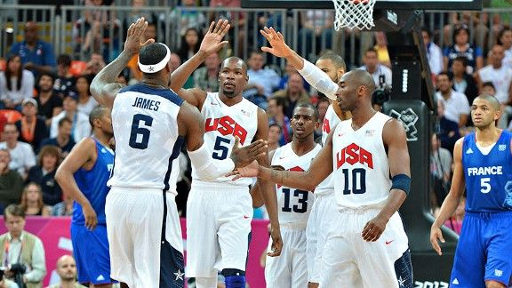 Stein Lebron Dishes Help Usa Pass First Test Team Usa Basketball Pictures Basketball Star