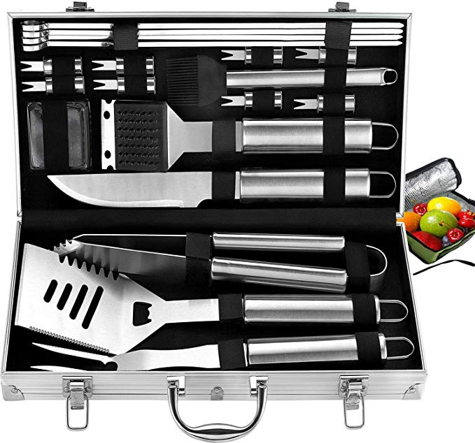 Amazon Com Romanticist 21pc Complete Grill Accessories Kit With